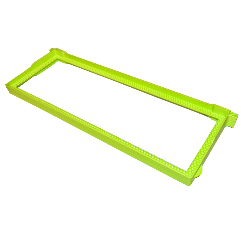 Plastic frame 2/3 Langstroth - 159 mm without foundation